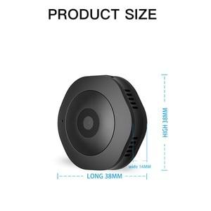 Image 3 - Mini caméra de surveillance extérieure ip Wifi H6, dispositif de sécurité sans fil hd, avec résolution nocturne, enregistrement vocal et vidéo