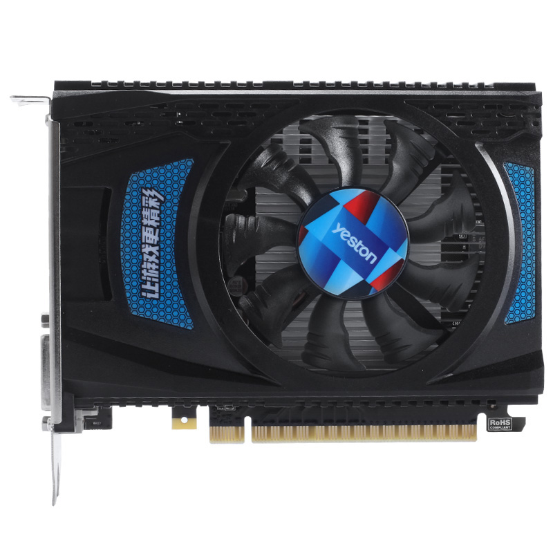 Yeston Radeon Rx550 2Gb Gddr5 Pci Express 3.0 Directx12 Video Gaming Image Card External Image Card For Desktop