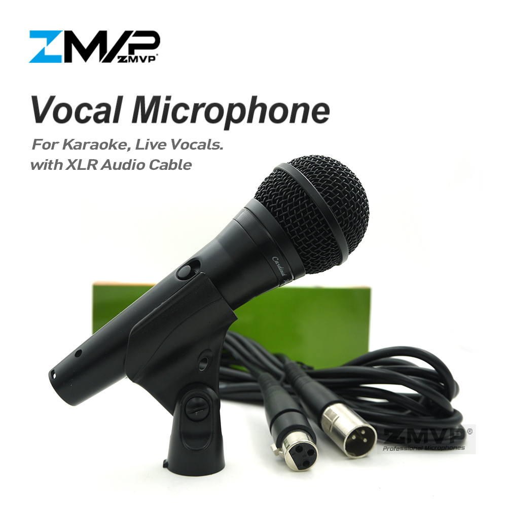 zmvp top quality version p58 professional live vocals karaoke dynamic wired microphone for. Black Bedroom Furniture Sets. Home Design Ideas