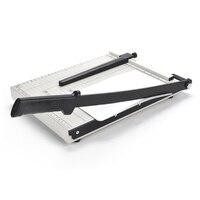 Professional A4 Paper Card Photo Trimmer Scrap booking Guillotine Blade Cutting Cutter Graduated Scale Metal Mat Pad Base