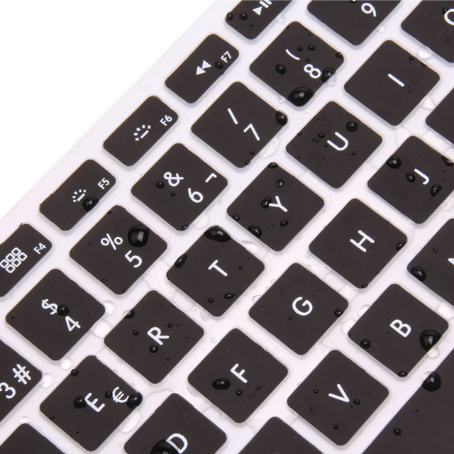 Silicone Dustproof Laptop Keyboard Cover For 12.5/13.3/15.6 inch For Xiaomi Air Laptop Notebook Accessories Keyboard Covers 4