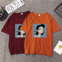 BJYL 2018 Harajuku T shirt Women Printrd Plus Size Fashion Vintage Shirt Summer Short sleeve T-shirt Casual Tees Tops NSZ038