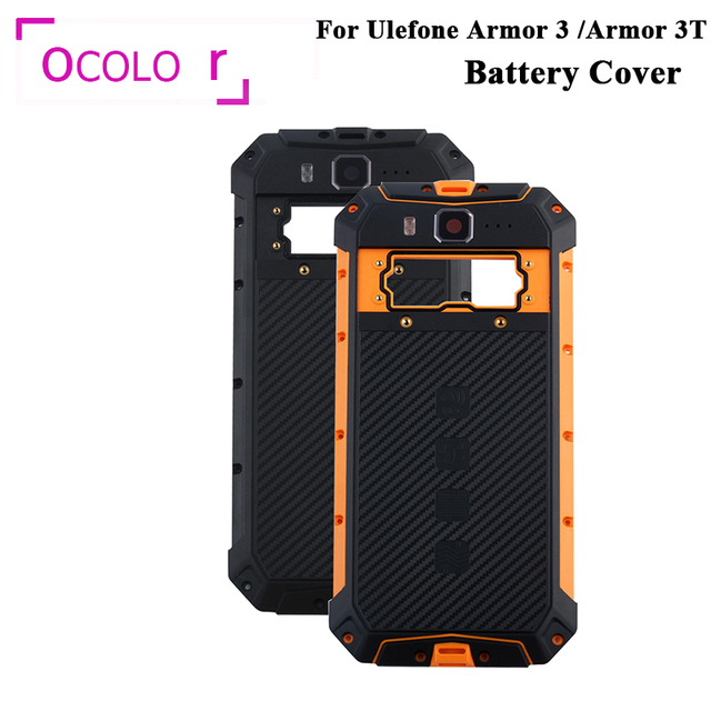 ocolor For Ulefone Armor 3 Armor 3T Battery Cover Bateria Back Case Cover Replacement For Ulefone Armor 3 Phone Accessories
