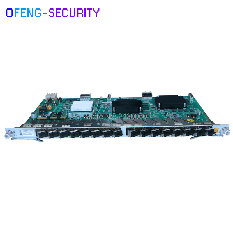 Best Price New GTGHK C++ ZTE GTGH GPON Card SFP 16 Ports To ZTE GTGH With 16 Modules C ++ For ZTE OLT C300 C320