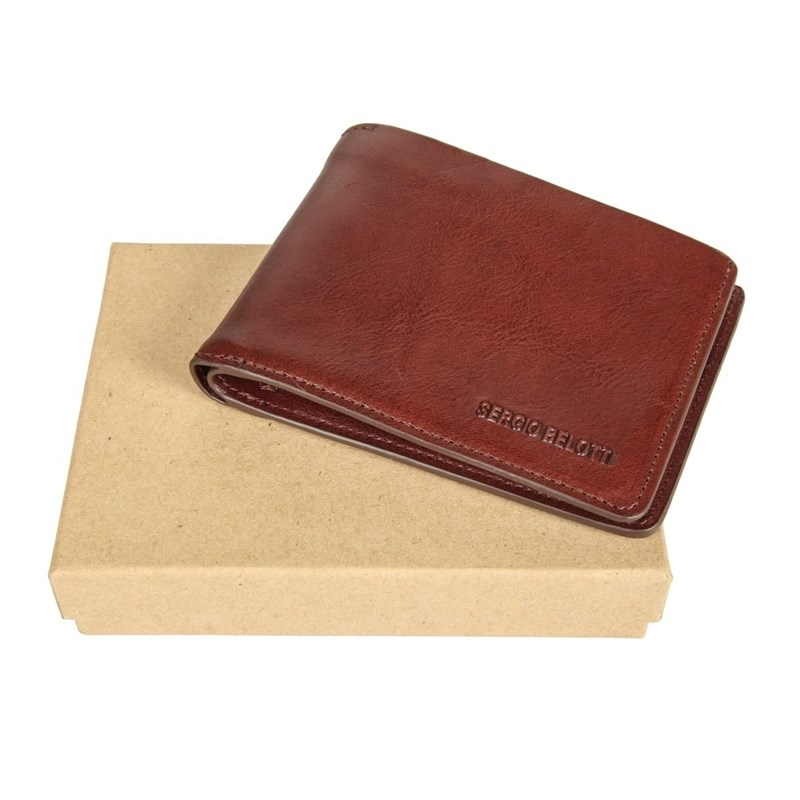 Wallets SergioBelotti 3542 IRIDO brown wallets sergiobelotti 3542 irido black