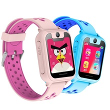 S6 1.54 inch Touch Screen SOS LPS Location Flashlight Camera Kids Game Children Smart Watch Emergency Alarm Low-power