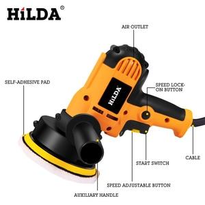 Image 2 - HILDA máquina del pulidor de coche, máquina de pulido automático, lijado de velocidad ajustable, herramientas de depilación, accesorios para coche, herramientas eléctricas