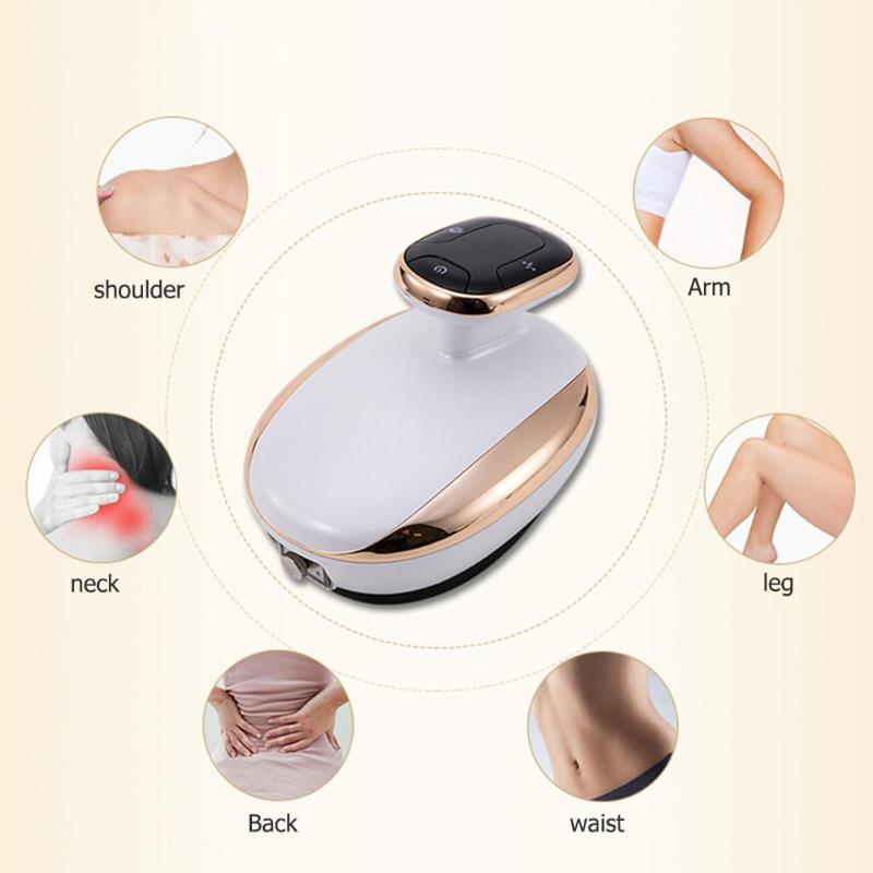 Electric Scraping Massager Cupping Body Relaxation Massage Stimulate Acupoints Detoxification Device Tool Healthy Care