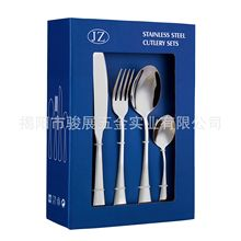 Manufacturer For Stainless Steel The West Tableware 24-Piece Set And Fork Spoon Quality Many Kinds Of Style Package Giftbox