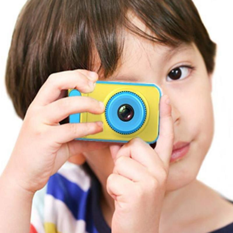Children's Mini Digital Camera 2 Inch Cartoon Cute Camera Toys Children Birthday Gift 1280p Toddler Toys Camera