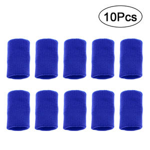Finger-Cover Volleyball 10pcs Sweatband Arthritis-Support Stretchy