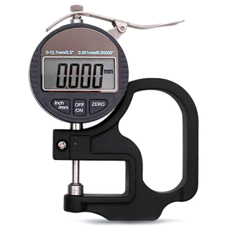WSFS Hot 0 001mm Electronic Thickness Gauge 10mm Digital Micrometer Thickness Meter Micrometro Thickness Tester
