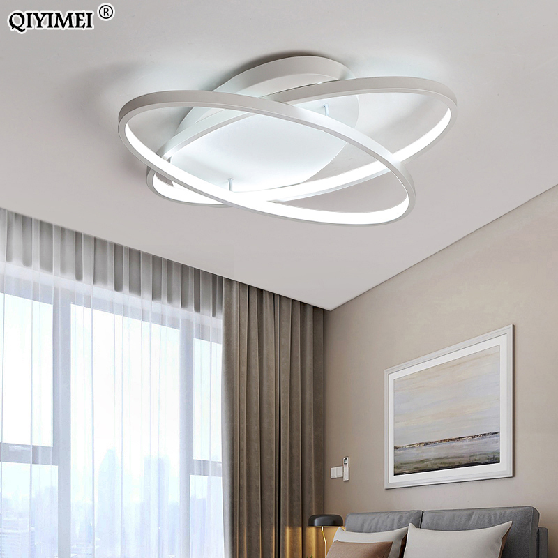 Image 4 - Oval Led Chandelier Lights Luminaire Plafonnier For Living Room Kitchen Bedroom Lamp Modern New Light Fixtures Lighting Dimmable-in Chandeliers from Lights & Lighting