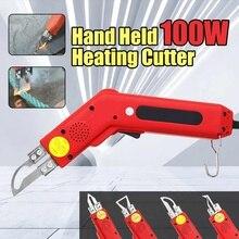 100w hand hold aquecimento cortador de faca cortador quente tecido corda ferramentas corte elétrico cortador quente nova chegada