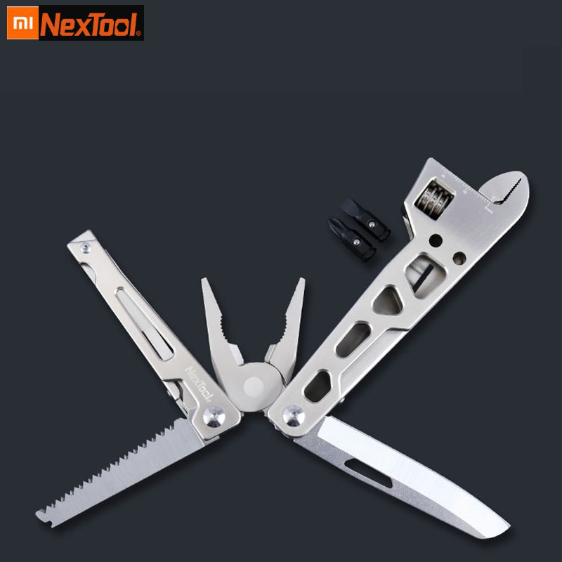 Xiaomi Mijia multi function Folding Knife Bottle Opener Screwdriver/Pliers Stainless Steel Army Knives Hunting Outdoor Camping 1