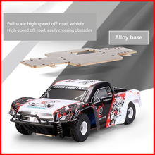 WLtoys K999 1:28 2.4G 4CH RTR Off-Road Remote Control RC Car High-speed 30km/h Alloy Chassis Structure Racing Vehicle VS A959 wltoys 4wd rc car k969 1 28 4ch off road suv 2 4ghz high speed monster 30km h rc buggy rock rover racing cars for boys zlrc