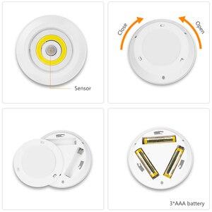 Image 4 - Coquimbo モーション活性化夜ライトバッテリ駆動のためのワードローブ階段 Pir モーションセンサー