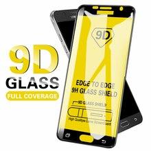 9D Protective Glass For Samsung Galaxy A5 A7 2017 A6 Plus 2018 A50 A30 Screen Pr