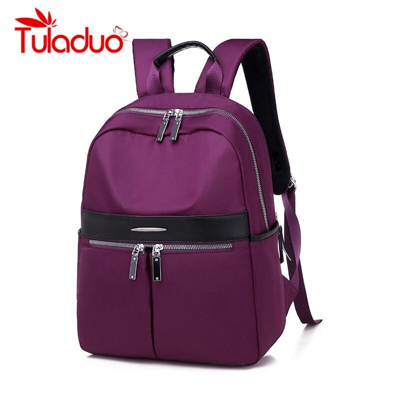 New School Backpack For Teenage Girl Mochila Feminina Women Backpacks Nylon Waterproof Casual Laptop Bagpack Female Sac A Do