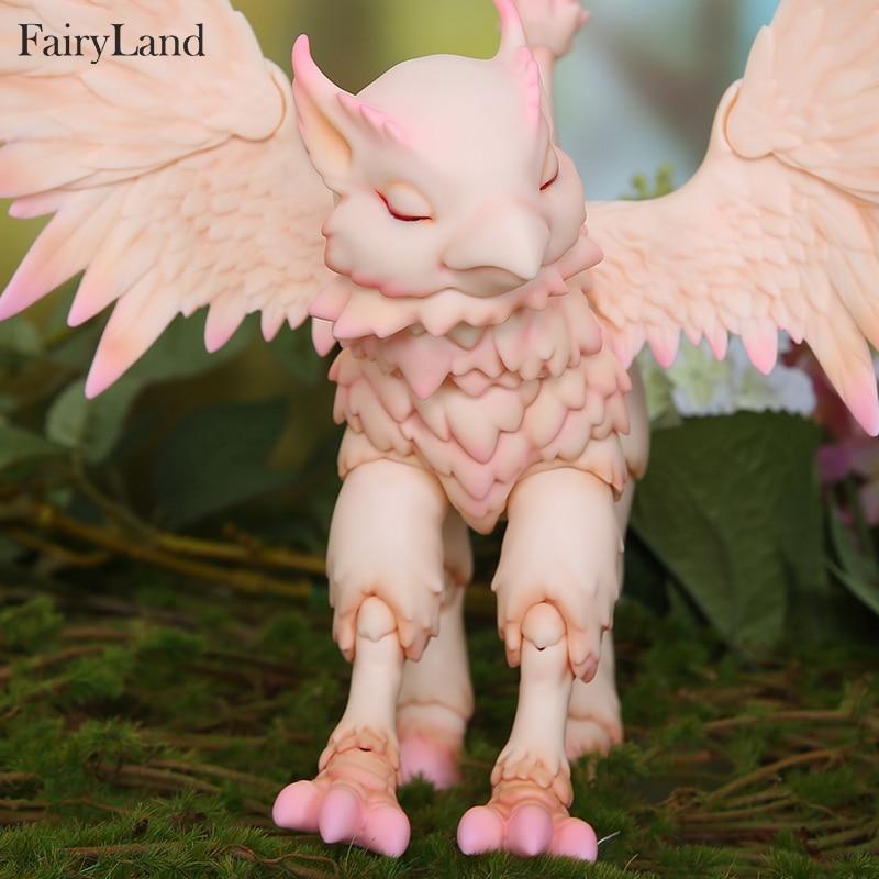 Sprookjesland FL Hippogriff Rus 1/7 bjd poppen model meisjes jongens ogen Hoge Kwaliteit speelgoed winkel hars fantasie anima-in Poppen van Speelgoed & Hobbies op  Groep 1