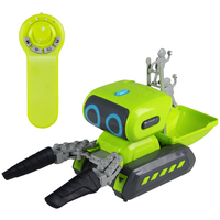 Infrared 2.4GHz Wireless Remote Control Toy Electronic Smart RC Robot 968 Tongs Carrying Robot Intelligent Space Transportation
