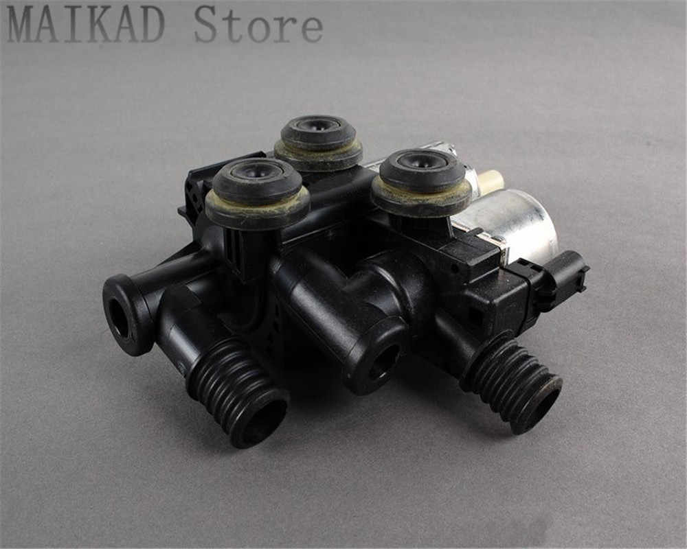 hight resolution of heater control valve auxiliary water pump water valve for bmw e46 x3 e83 z3 e36 316i