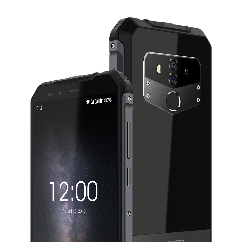 "Image 5 - Oukitel Wp1 Ip68 Waterproof 4gb 64gb 5000mah Mtk6763 Octa Core 5.5"" Hd+ 18:9 Display Wireless Charging Tri proof Smartphone-in Cellphones from Cellphones & Telecommunications"