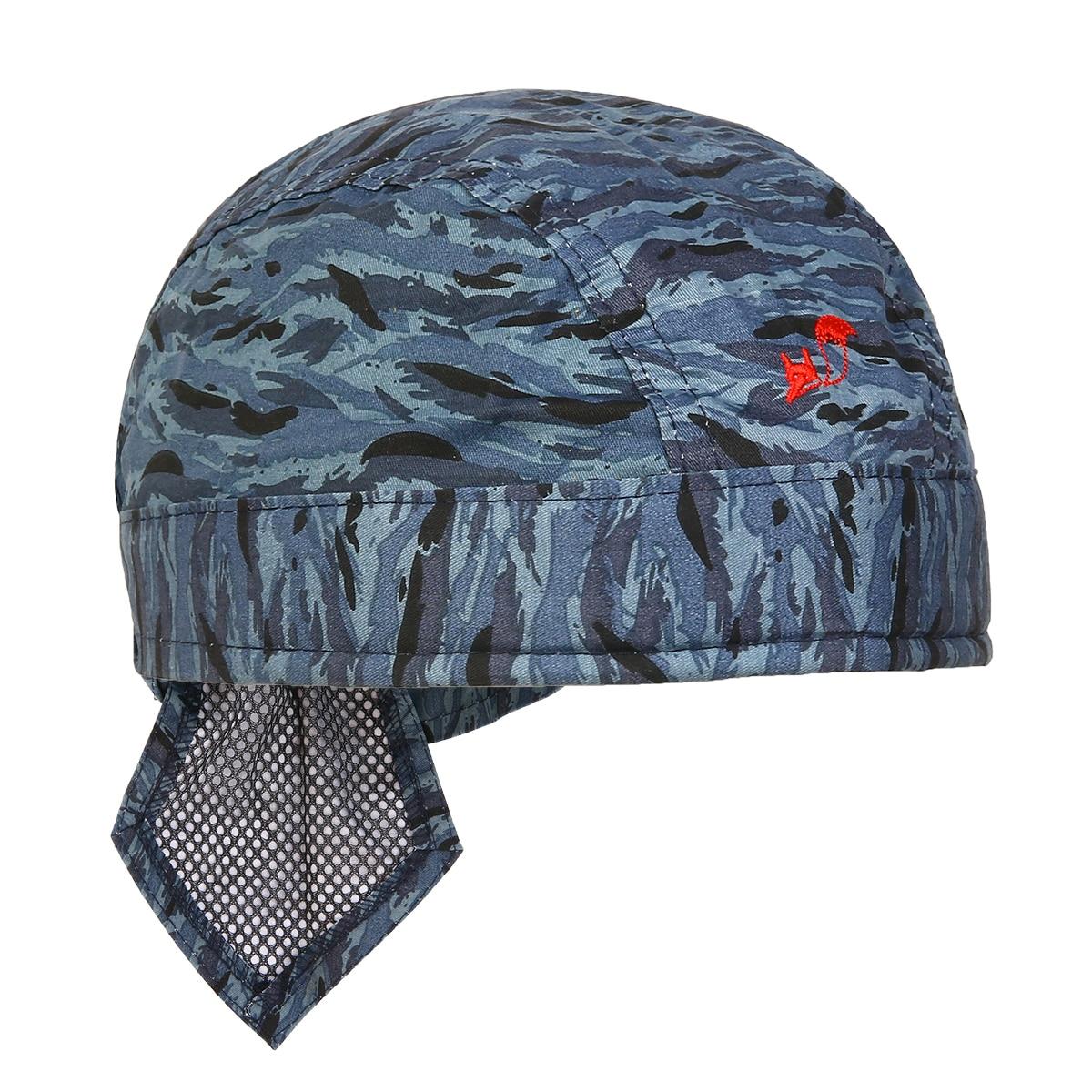 Camouflage Welder Welding Protective Hat Cap Scarf Flame Retardant Cotton Helmet