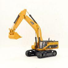 1:50 Масштаб/Моделирование литой модели игрушечного автомобиля/инженерный экскаватор грузовик/Нежный Детский подарок/образовательная коллекция