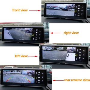 Image 4 - פנורמי רכב DVR מצלמת דאש 360 תואר מבט ציפור מערכת 4 מצלמה הקלטת חניה מצלמת קדמי אחורי שמאל ימין להציג מצלמת