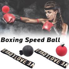 Боксерский рефлекторный скоростной мяч для бокса Sanda Boxer улучшает отзывчивый ручной глаз Тренировочный Набор для снятия стресса бокс Exercise тайские упражнения