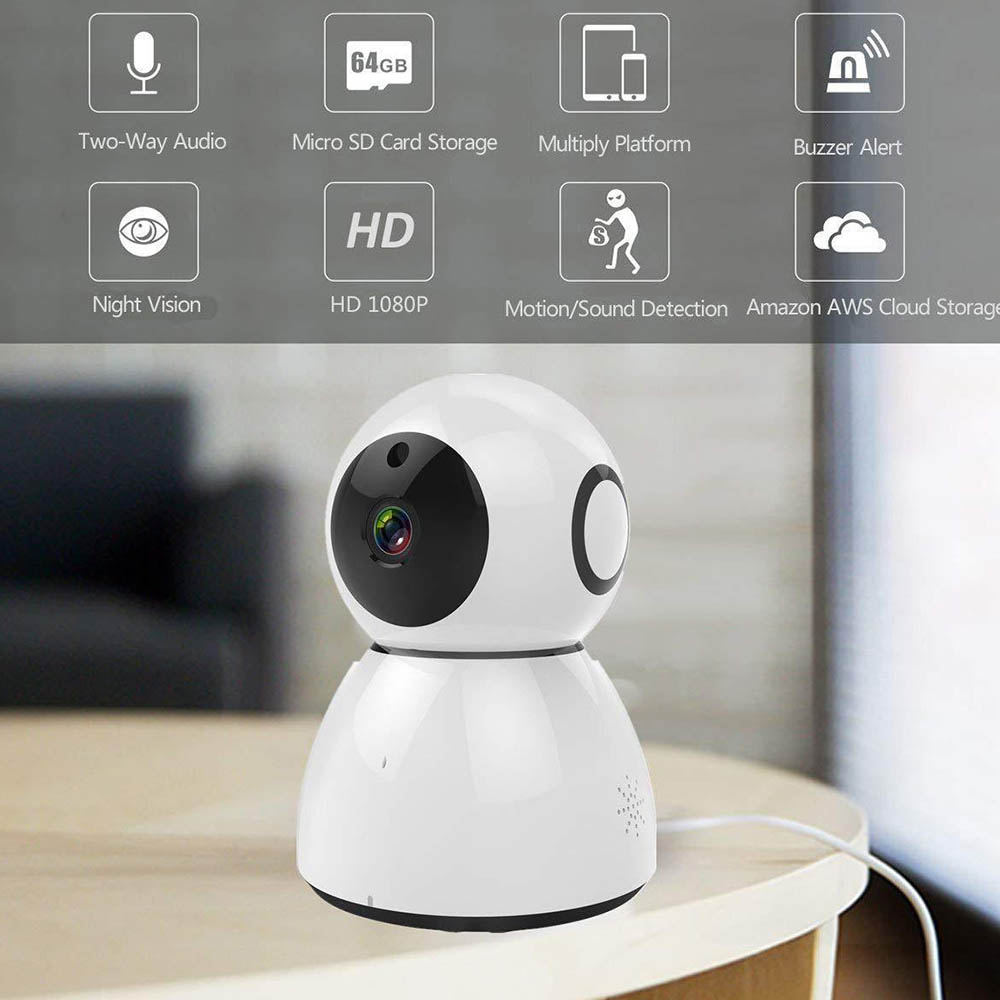 Full HD 1080P 2MP Wifi IP Camera Wifi App Control Home Security Night Vision Two Way Audio Baby Monitor Surveillance camerasFull HD 1080P 2MP Wifi IP Camera Wifi App Control Home Security Night Vision Two Way Audio Baby Monitor Surveillance cameras