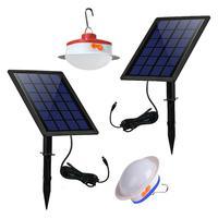 Solar Energy Light Split Solar Wall Lamp Hanging Lamp Outdoor Garden Lamp Solar Powered Lamp 6V LED Bulb