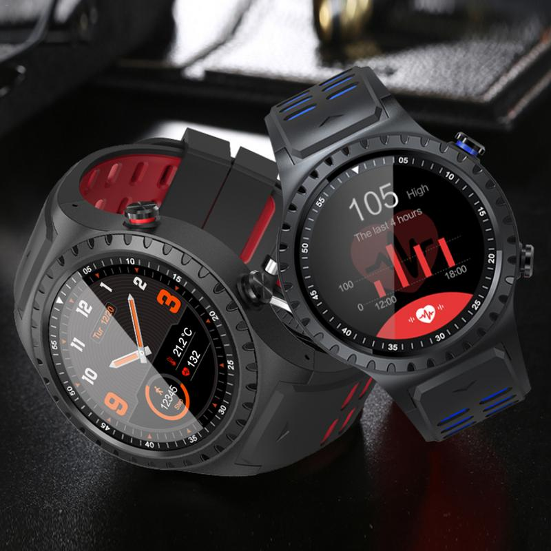 SMA-M1 GPS Sport Montre Bluetooth Appel-Sport Mode Boussole Altitude Sports de Plein Air Montre Smart Watch