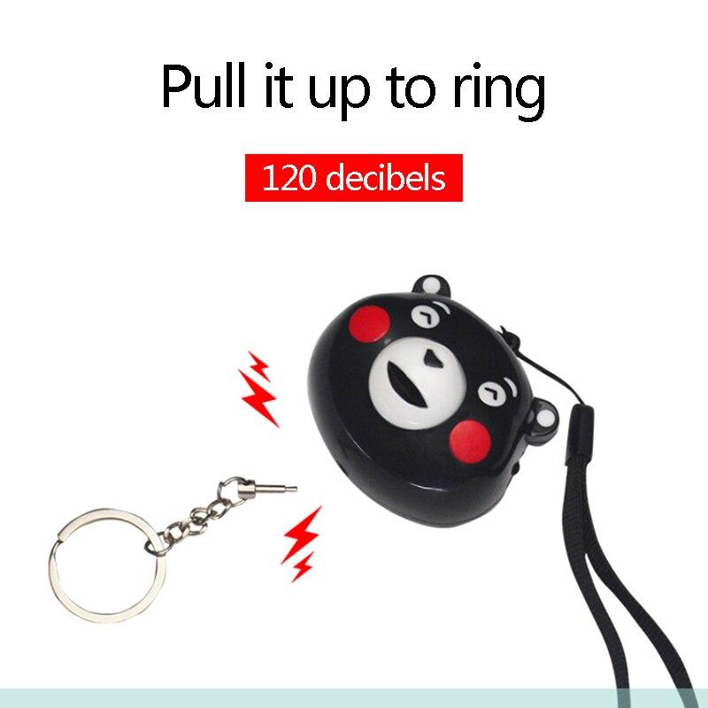 Personal Alarm Safe Sound Emergency Self-Defense Security Alarm Keychain LED Flashlight For Women Girls Kids Elderly Explore