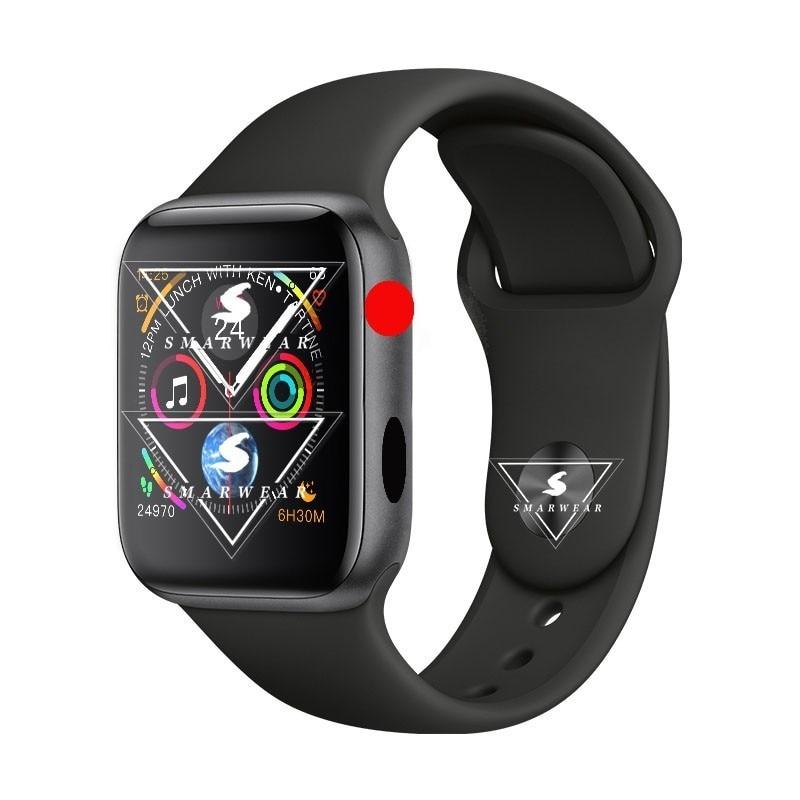 Tüketici Elektroniği'ten Akıllı Saatler'de Yükseltme 44mm W54 akıllı saatler Band nabız monitörü spor izci çağrı arama cevap izle giyen bileklik bilezik title=