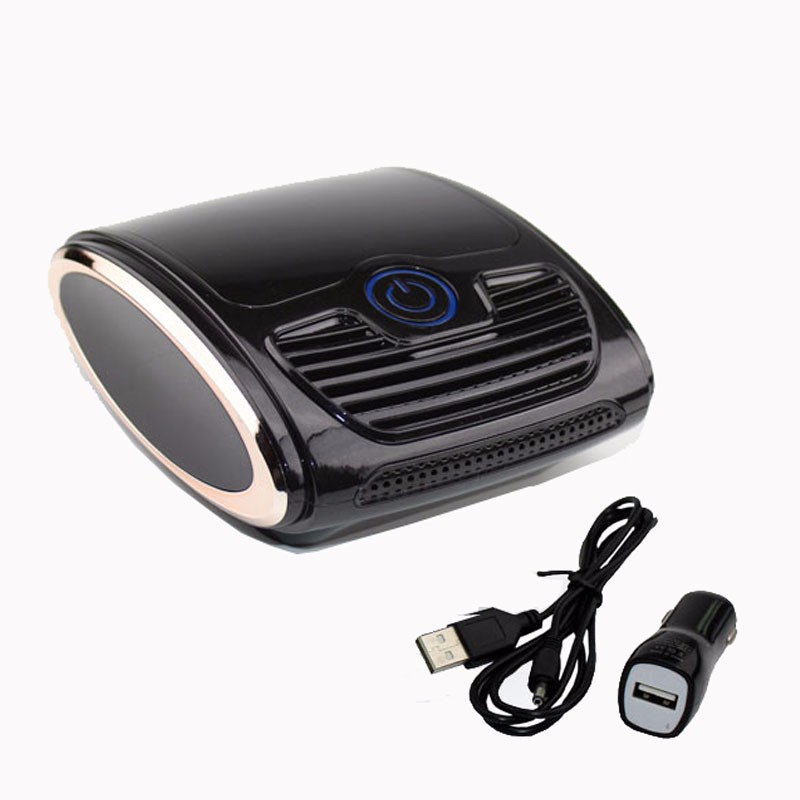 Portable Car Air Purifier DC 12v Anion Ionizer Cleaner Negative Ions Generator Mephitis Absorption Air Ionizer For Home ZG 300