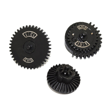 SHS 13/1 Straight Tooth Steel Gear Set for JM Gen.8/JM Gen.9 Modificaton and Upgrade - Black