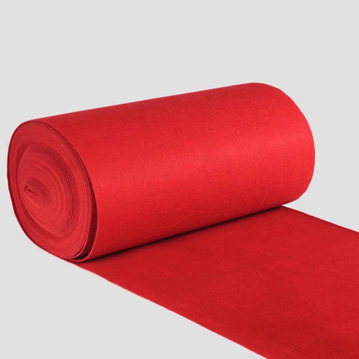 10/20 メートル結婚式の通路の床ランナーカーペットポリエステル大レッドカーペット敷物ハリウッド賞イベントイベントの装飾