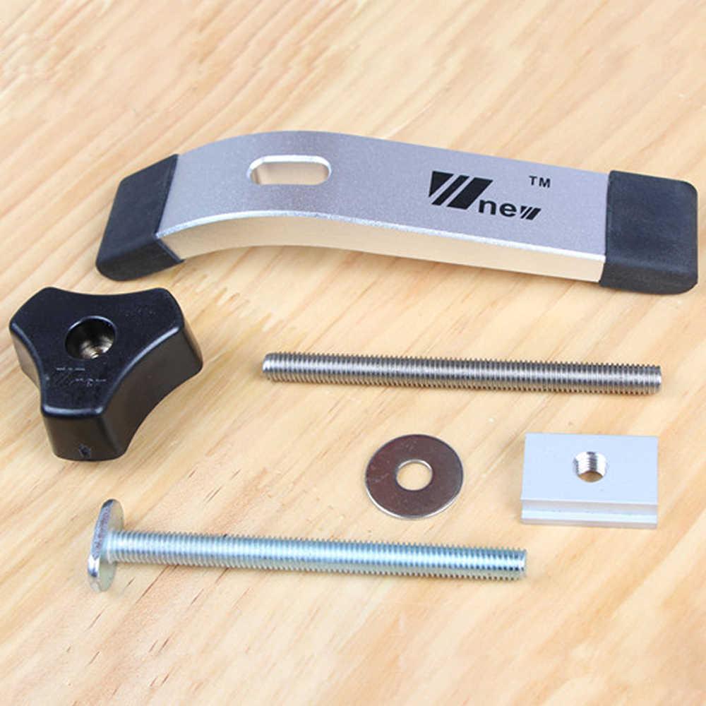Металлические быстродействующие зажимные T-Slot T-Track зажимной комплект для работы по дереву