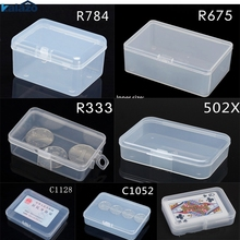 Top selling Transparent Plastic Storage Box Clear Square Multipurpose Display Case Jewelry Boxes