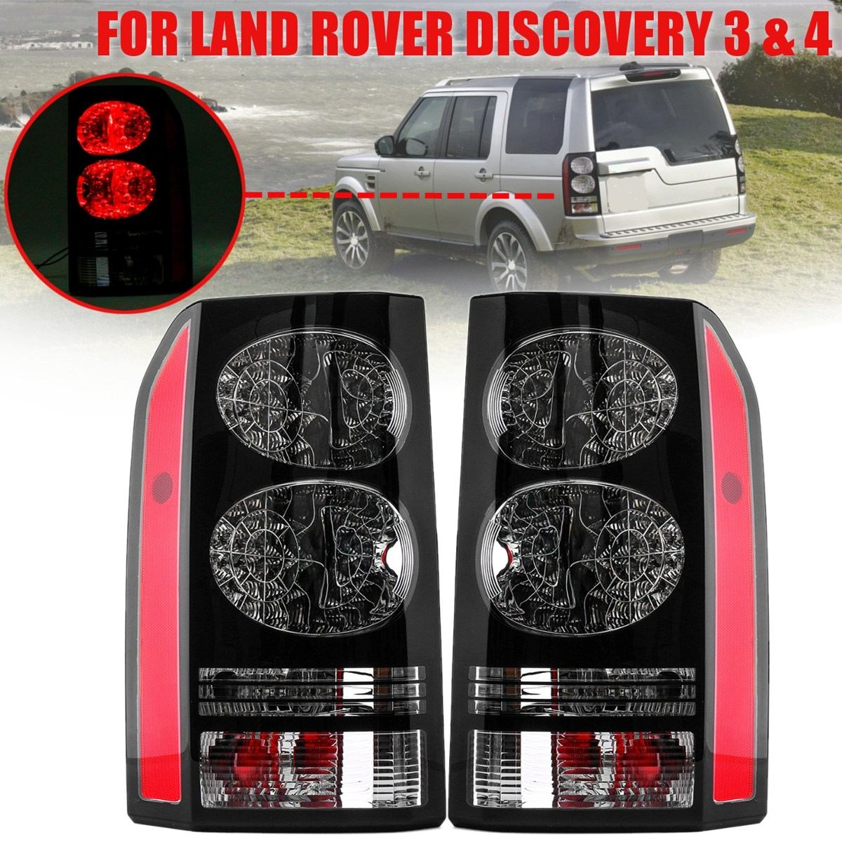 FOR Discovery 3 4 for land rover 2010 2016 Rear brake light Rear Tail lamps Tuning OE Parts LR052397 Car the latest Taillights