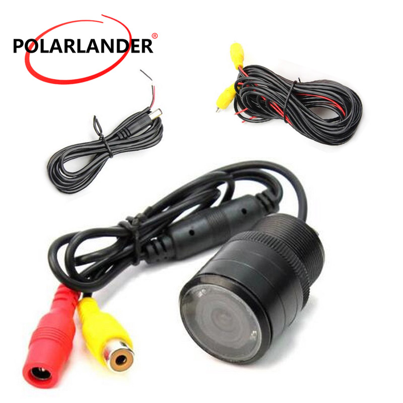 Hot Sale Best Selling Universal 120 Degree Wide Angle 28MM Drilling Infrared Night Version Car CCD Rear View  Reverse Camera