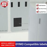 Совместимые с dymo этикетки 11351 ювелирные изделия этикетки Термические бумага 54 мм x 11 LabelWriter Turbo SLP Etiketten