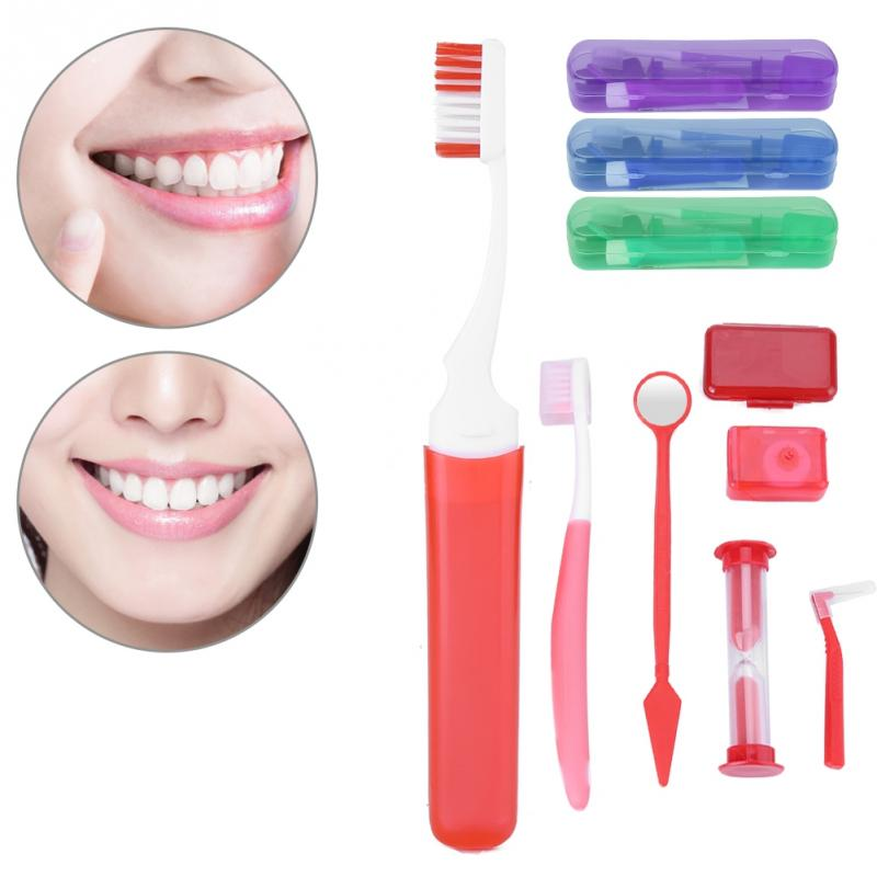 Oral Clean Tools Tooth Brush Mouth Mirror Interdental Brush Dental Floss Oral Clean Tools Orthodontic Oral Care Clean Suit