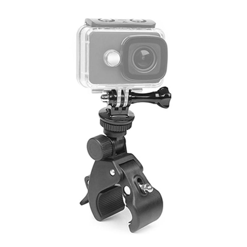 Bicycle Handle Clamp Camera Mount w//Tripod Adapter for GoPro Hero 7 5 6 4 Kit