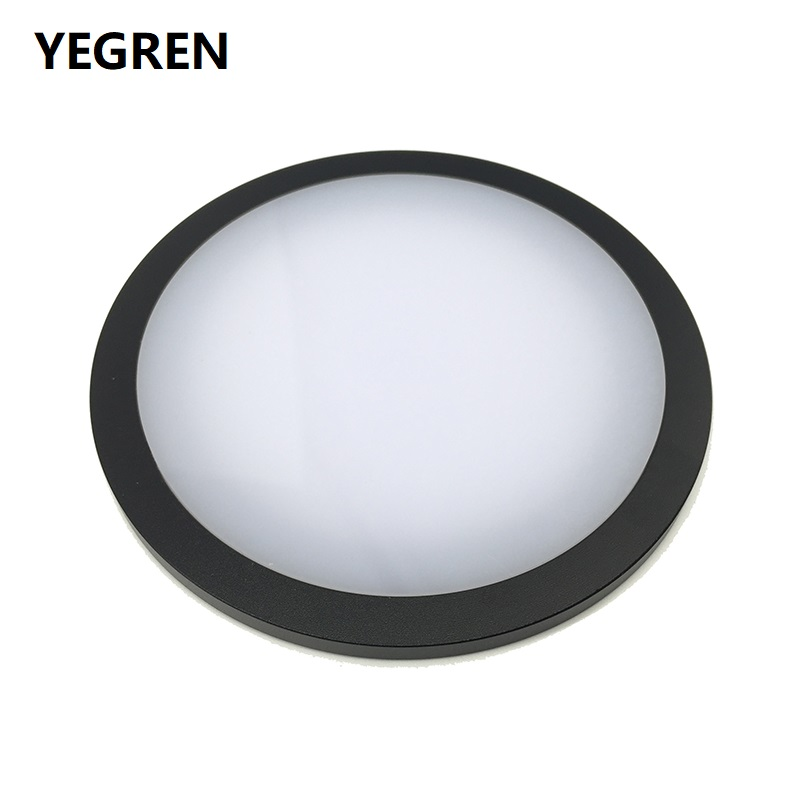 Diameter 95 Mm Working Stage Transparent Translucent Round Specimen Plate Glass Plastic Metal Work Board For Stereo Microscope