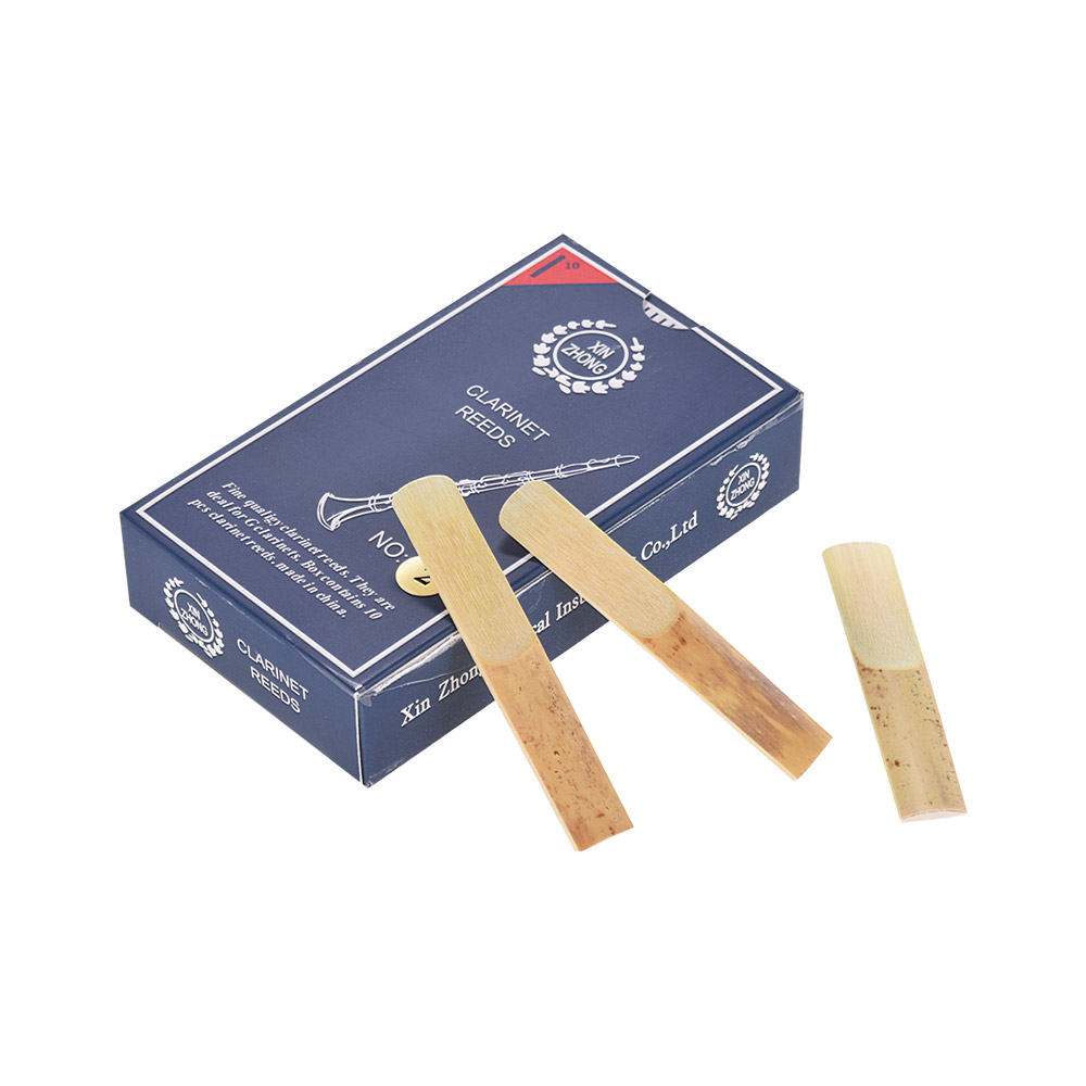10pcs/ Box Clarinet Reeds Normal Level G Clarinet Reeds Strength 2.0/ 2.5/ 3.0 Woodwind Instruments for Beginners