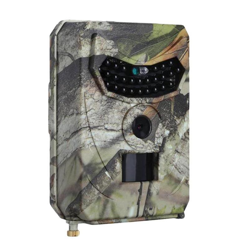 PR-100 chasse Trail caméra HD 1080 P 12MP ir-cut Vision nocturne enregistreur vidéo PIR capteur de mouvement caméscope sauvage