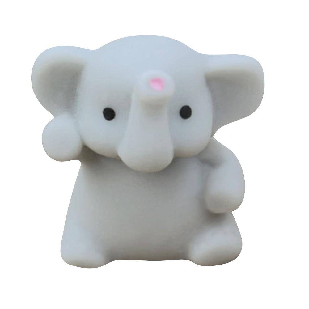 Mochi Squishy Elephant Squeeze Healing Fun Kids Kawaii Toy Stress Reliever Decor